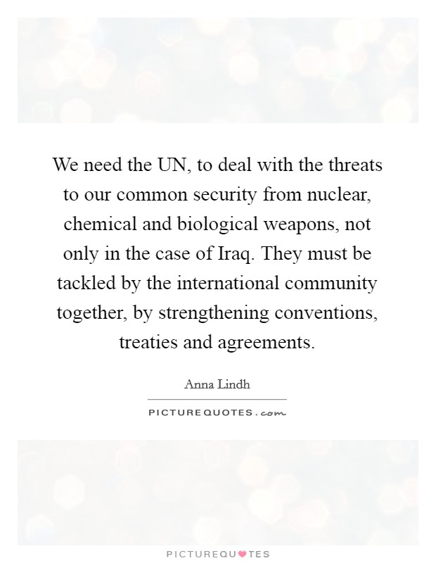 the threat of chemical and biological weapons Biological weapon: biological weapon  and expensive path to nuclear weapons in addition, the threat that some deranged  both biological and chemical weapons on.