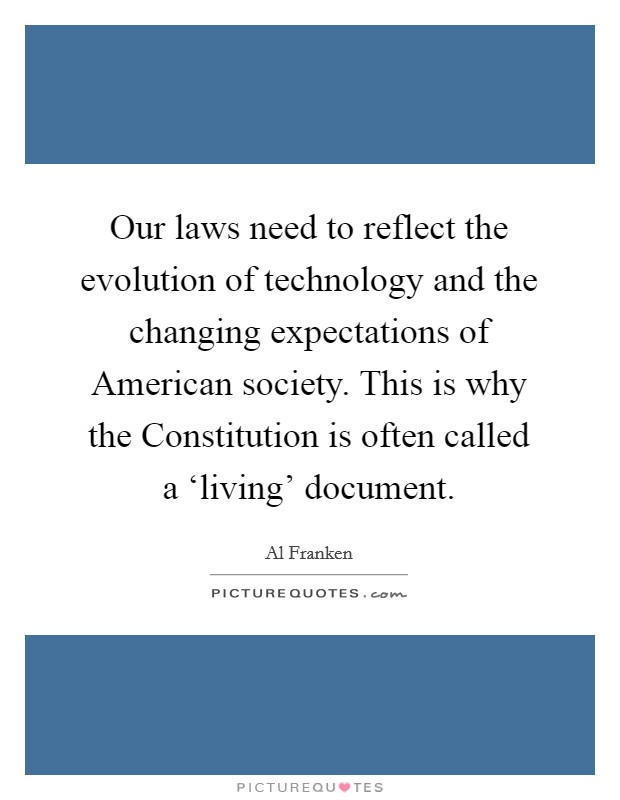technology and the evolution of the american society Peer commentary evolution and society: the refining of environment, defense mechanisms, and memory cristina e eagan rochester institute of technology.