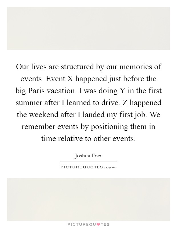 First Vacation Quotes Amp Sayings First Vacation Picture Quotes