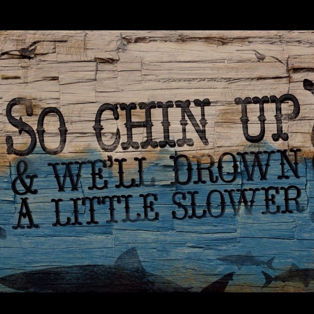 Chin Up Quote 7 Picture Quote #1