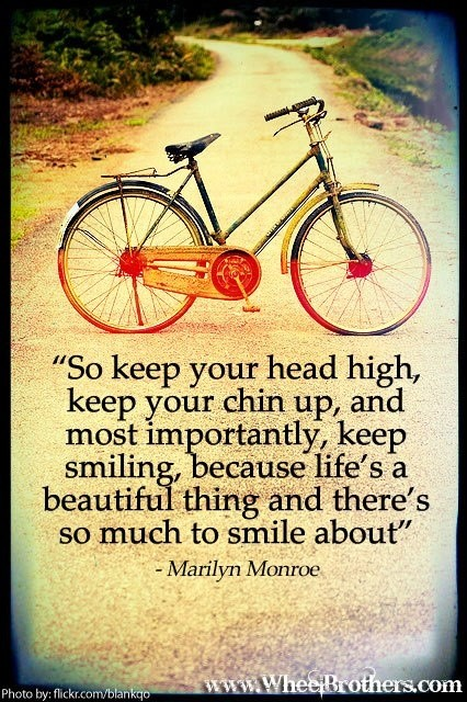 Chin Up Quote 4 Picture Quote #1