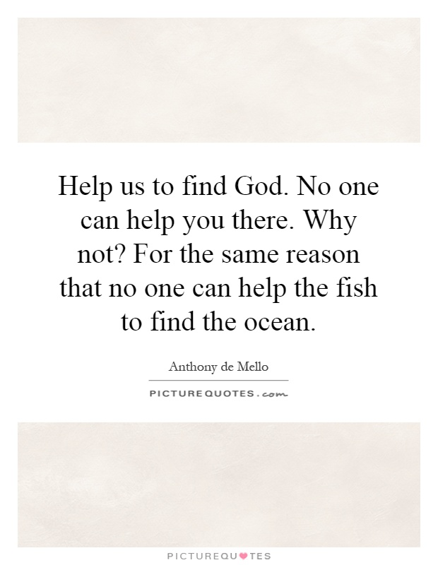god is not a fish inspector Below is an essay on god is not a fish inspector from anti essays, your source  for research papers, essays, and term paper examples.