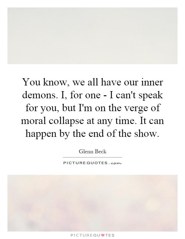 inner demons ending relationship