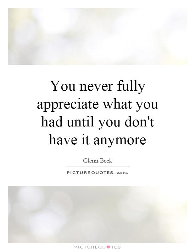 Appreciate You Quotes & Sayings   Appreciate You Picture ...