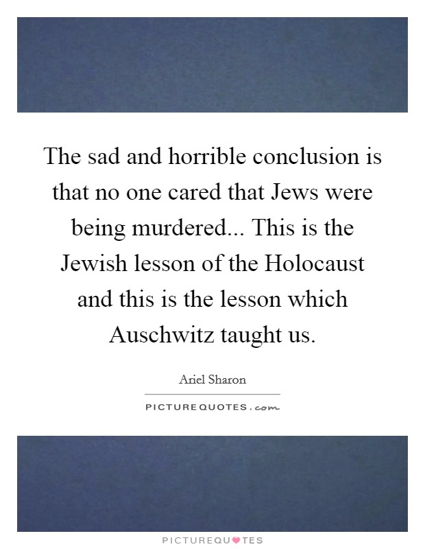 conclusion about holocaust Check out our top free essays on paragraph on holocaust to help you write your own essay brainiacom join now login search saved papers free essays on.