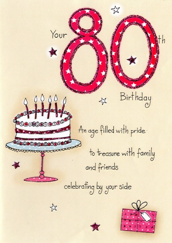Quotes 80Th Birthday Amusing 80Th Birthday Quote  Quote Number 751413  Picture Quotes