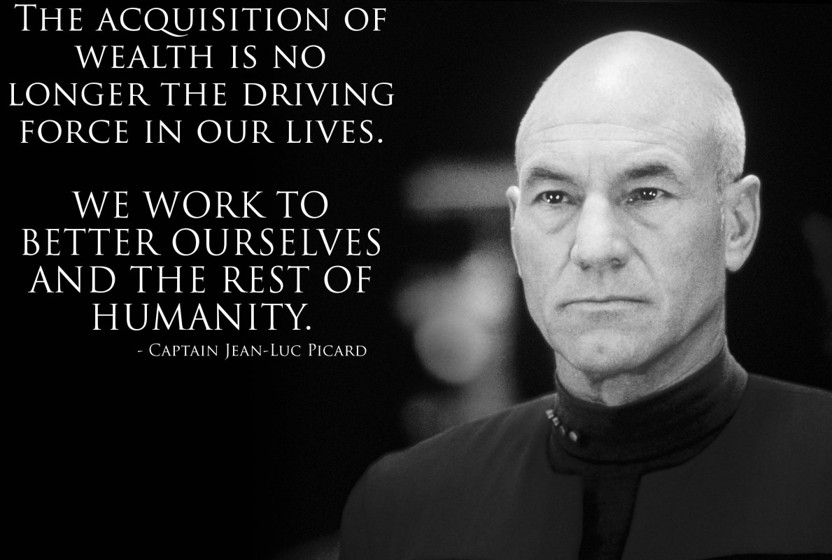 Jean Luc Picard Quote 9 Picture Quote #1