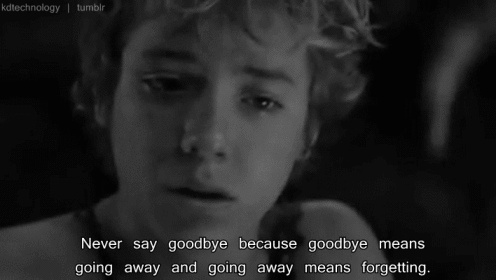 Famous Goodbye Quote 1 Picture Quote #1