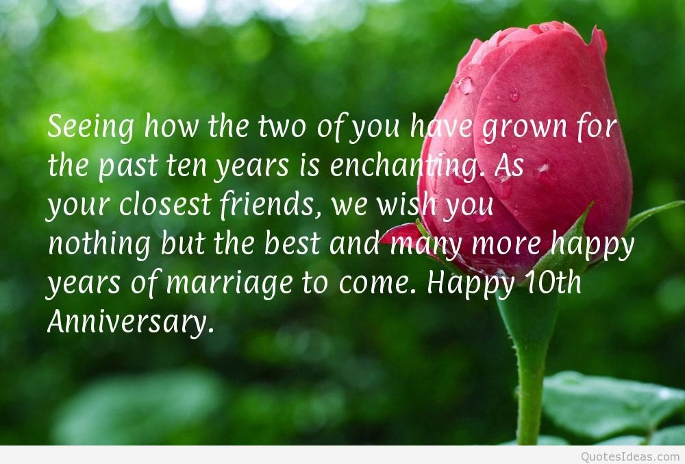 10 Year Anniversary Quote 1 Picture Quote #1
