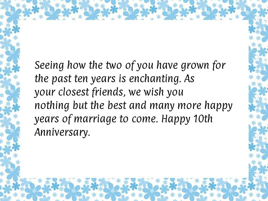 10 Year Anniversary Quote 5 Picture Quote #1