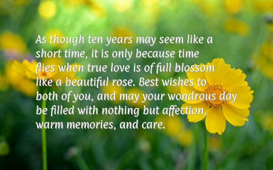 10 Year Anniversary Quote 6 Picture Quote #1