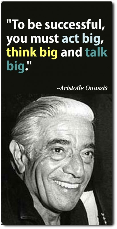 Think Big Quote 4 Picture Quote #1