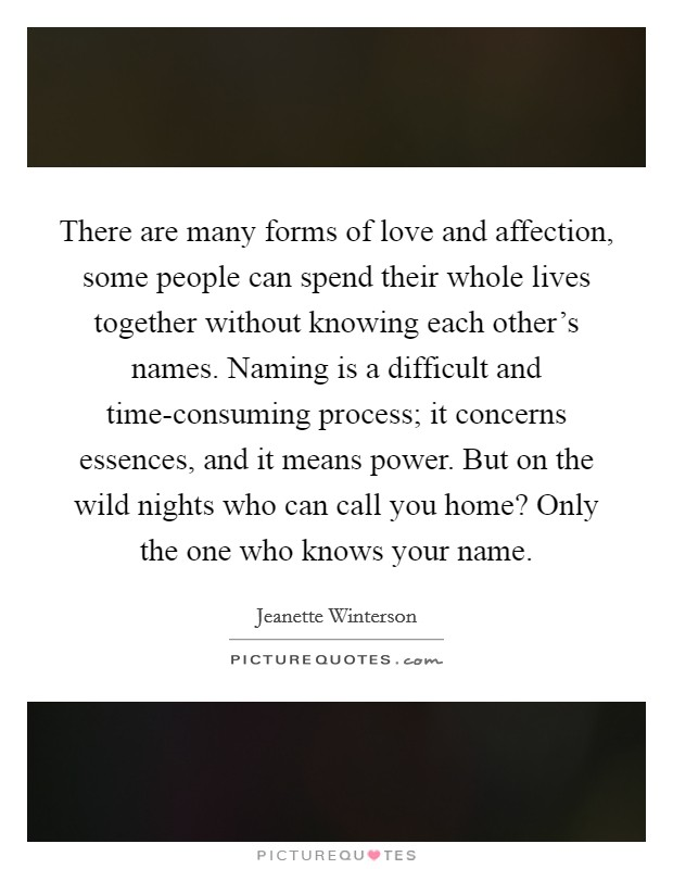 the many forms of love