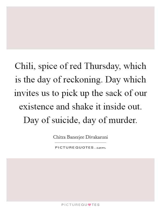 Day Of Reckoning Quotes