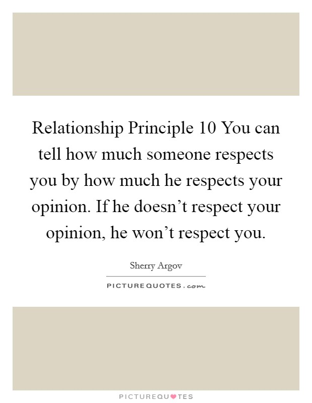 how to build respect in a relationship