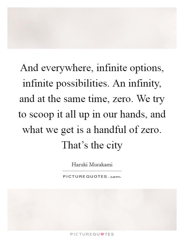 Infinity quotes