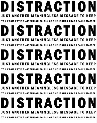 Distraction Quote 11 Picture Quote #1