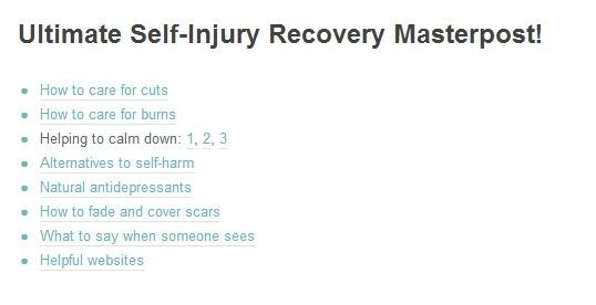 Recovery From Self Injury Quote | Quote Number 758351 ...