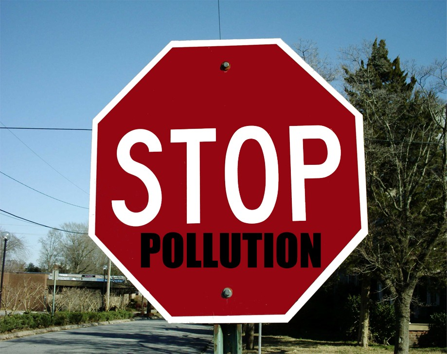 Stop Pollution Quote 1 Picture Quote #1