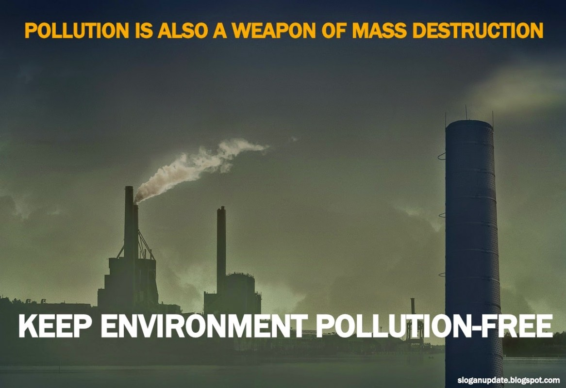 Pollution Quote 2 Picture Quote #1