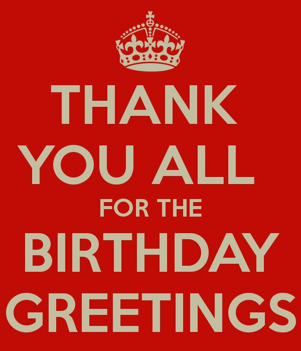 Thank You Birthday Quote 3 Picture Quote #1
