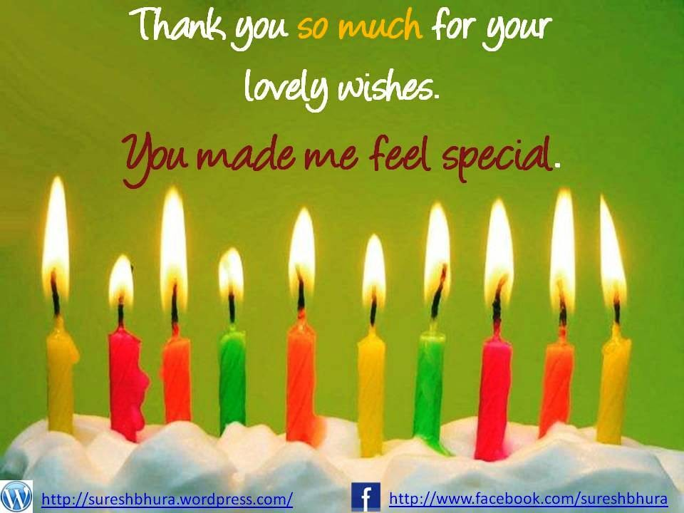 Thank You Birthday Quote 7 Picture Quote #1