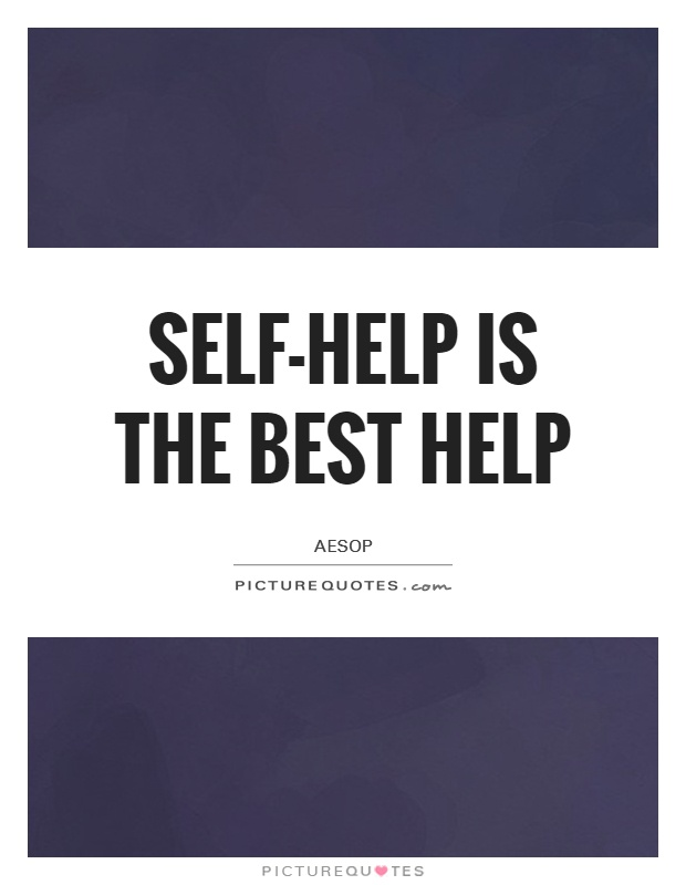 Self help best help essay
