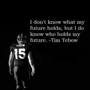 I don't know what my future holds, but I do know who holds my future Picture Quote #2