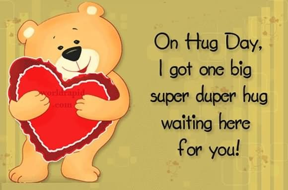 Hug Day Quote 5 Picture Quote #1