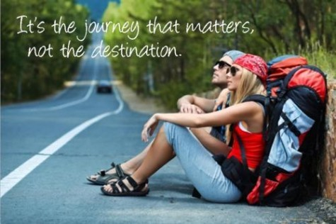 Journey Not Destination Quote 1 Picture Quote #1