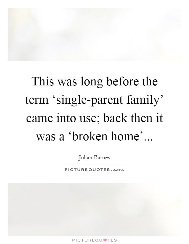 broken family 3 essay Broken family: its causes and effects on the development of children ruksana saikia abstract family is the basic unit of society this is the most essential component.