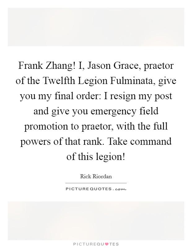 Jason Grace Quotes & Sayings | Jason Grace Picture Quotes  Jason Grace Quo...