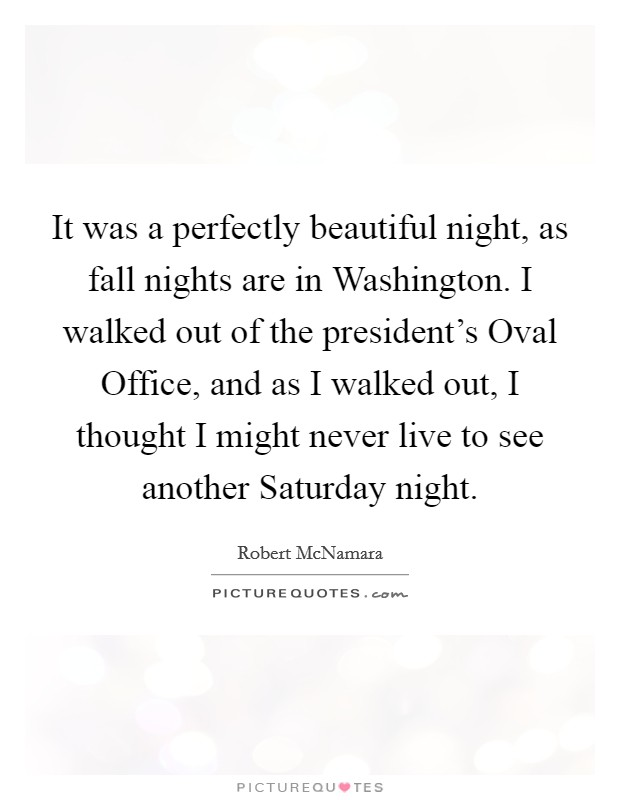 Fall Night Quotes