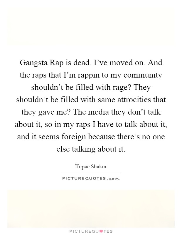 Aristotle and gangsta rap