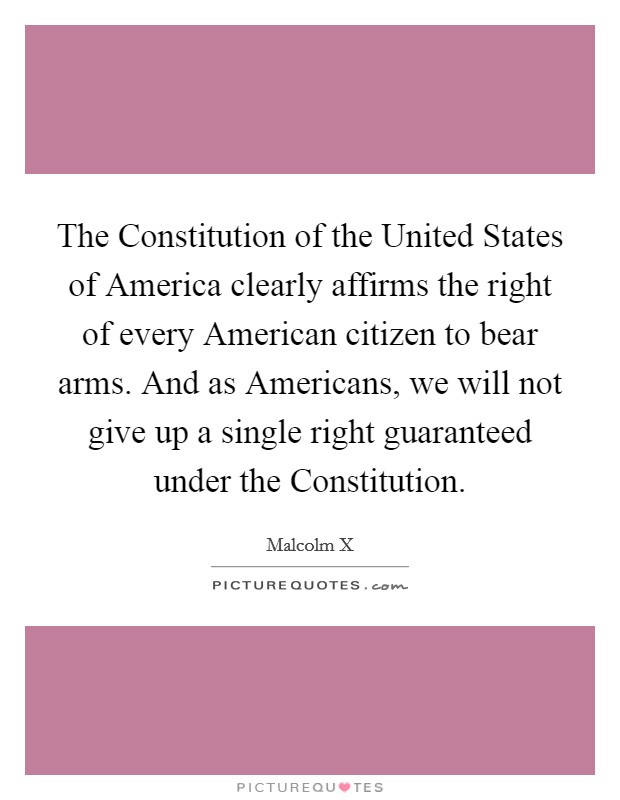 the united states constitution protecting the rights of every american For almost 100 years, the aclu has worked to defend and preserve the individual rights and liberties guaranteed by the constitution and laws of the united states.