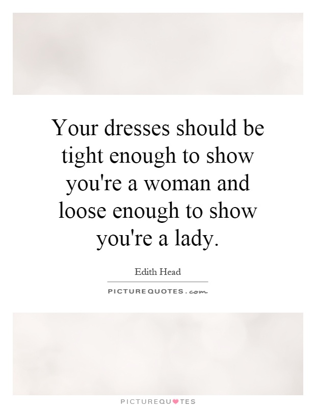 Cool Fashion Woman Dress Made From Quote