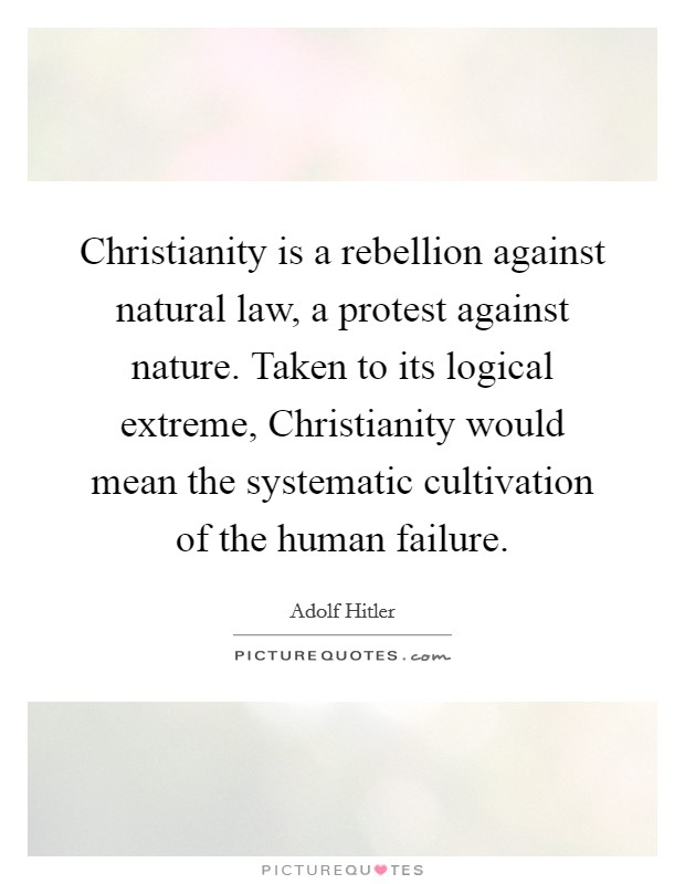 an argument against natural law To the reductio ad hitlerum argument of the post world war ii era), h l a hart  formulated again the  argu-ments against the classical tradition of natural law.