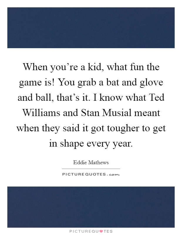 how stan musial has made me In recent years, and in the days since his passing, the point has often been made that outside st louis, through the years, stan musial had somehow receded from the national consciousness that somehow, he had become baseball's least-celebrated, truly great player.