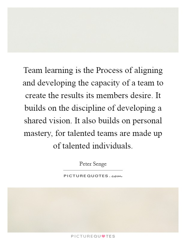 shared vision by peter senge