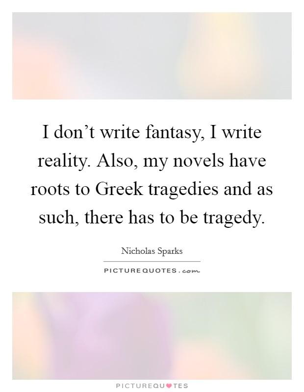 How to Write a Greek Tragedy