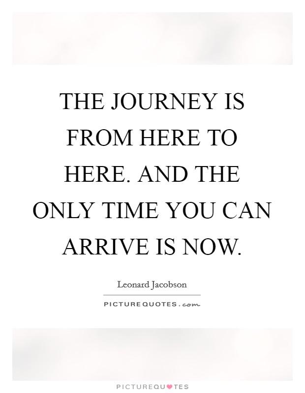 journey into now leonard jacobson pdf