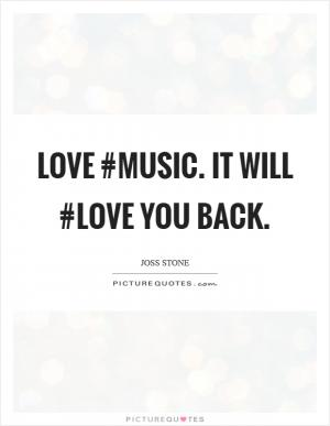 See All Music Love Quotes