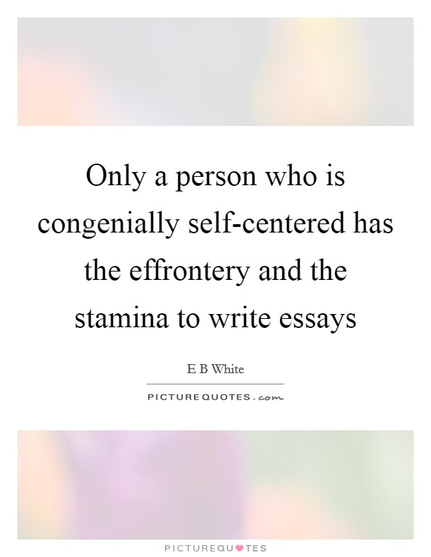 essay on self centered generation Amazoncom: generation me: why today's young americans are more confident, assertive, entitled--and more miserable than ever before  self centered,.