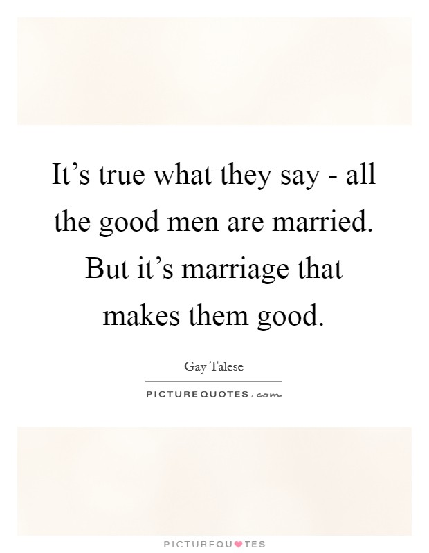 Is it good dating a married man