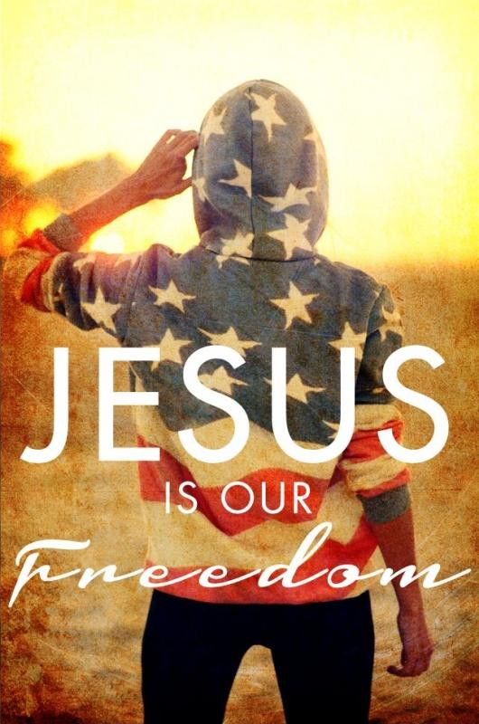 Jesus is our freedom Picture Quote #1