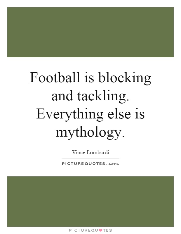 Vince Lombardi Quotes & Sayings (210 Quotations) - Page 2