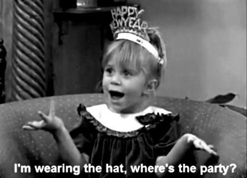 I'm wearing the hat, where's the party? Picture Quote #1