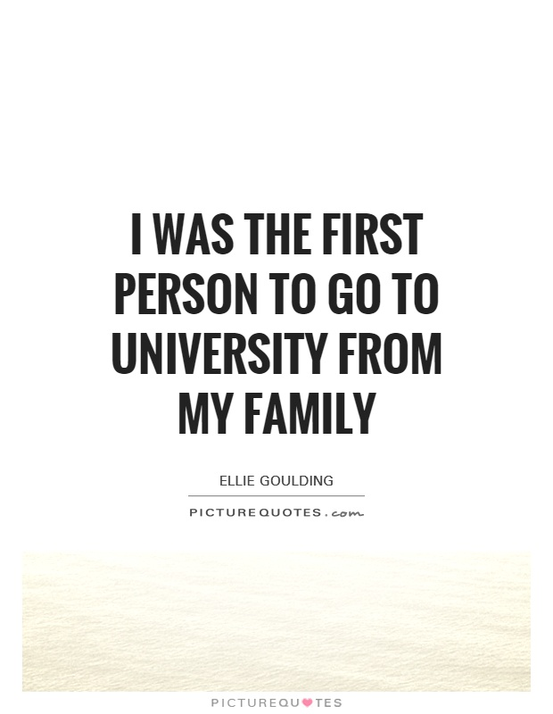 my family college essay Free essay: for example, when i graduated from high school i knew i wanted to go to college, and i liked so many things that i could not figure it out by.