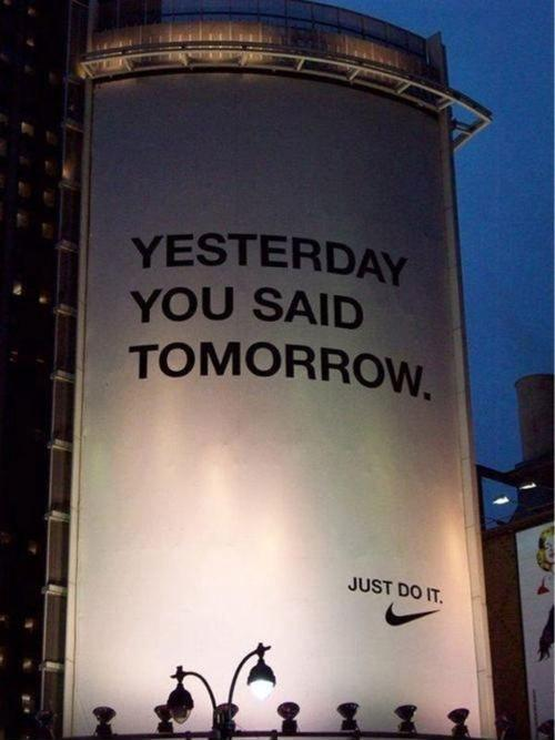 Yesterday You Said Tomorrow Picture Quotes
