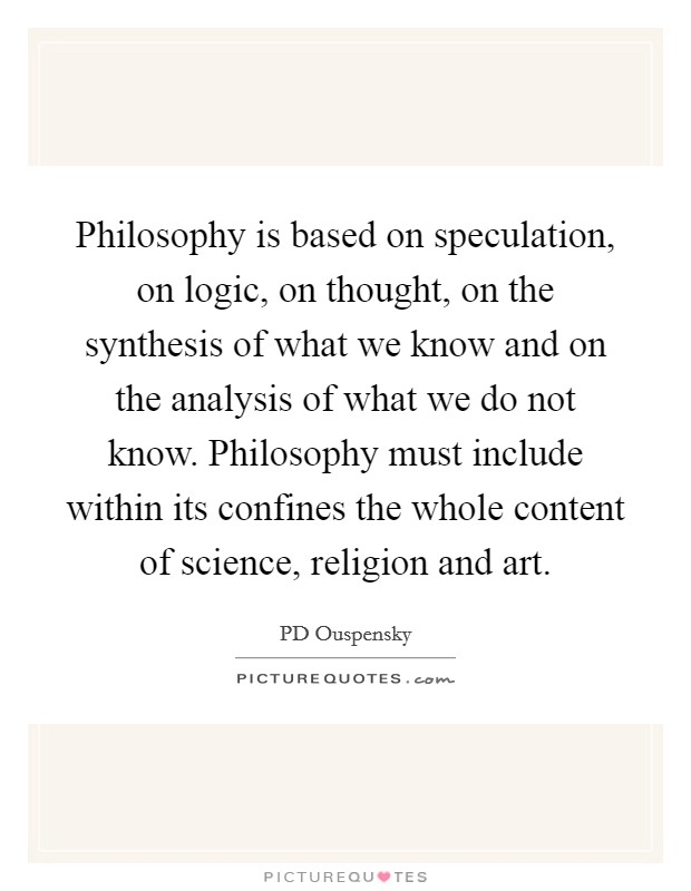 an analysis of knowing in philosophy Philosophy of knowledge an analysis of knowledge and valuation the ways of knowing, or the methods of philosophy (1925.
